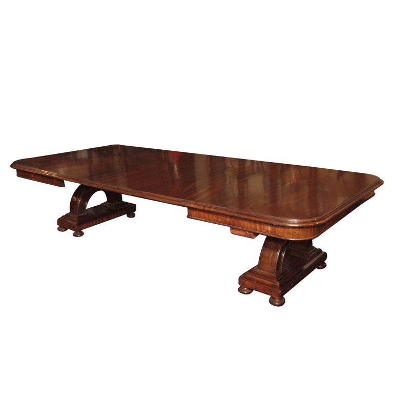 William IV Antique English Mahogany Dining Table at 1stdibs : 8845132889137410 from 1stdibs.com size 769 x 768 jpeg 30kB