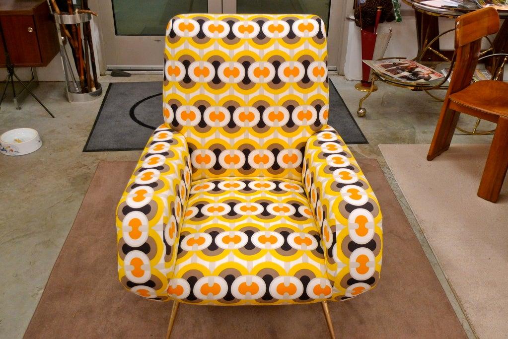 1950s Italian Lounge Chair 10