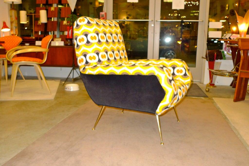1950s Italian Lounge Chair 2
