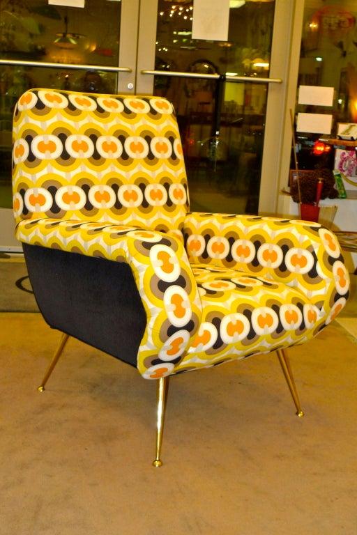 1950s Italian Lounge Chair 3