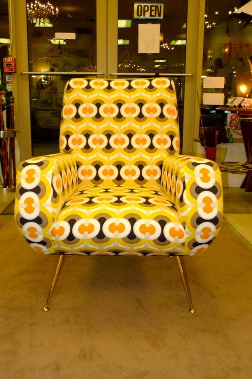 1950s Italian Lounge Chair 4
