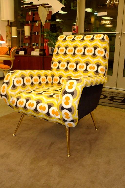 1950s Italian Lounge Chair 8