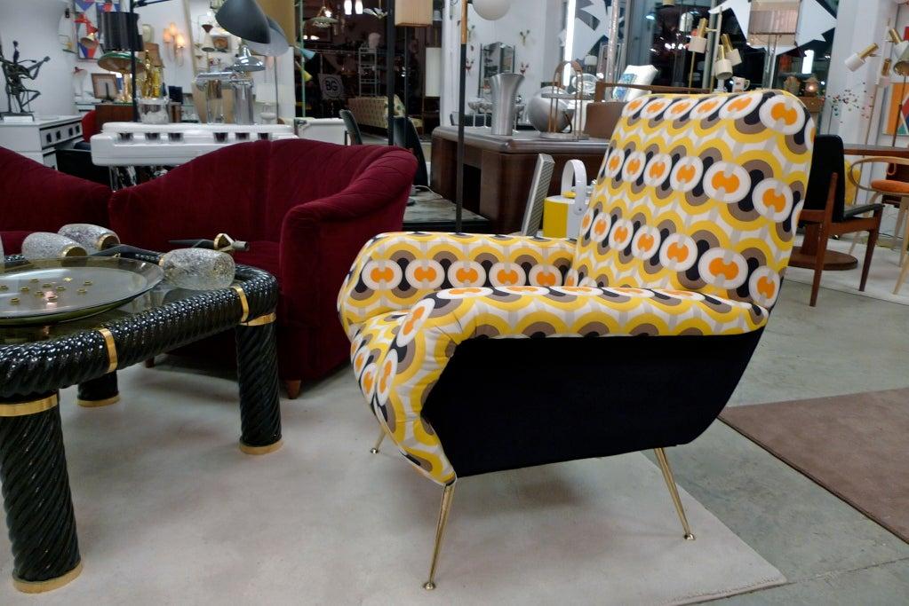 1950s Italian Lounge Chair 9
