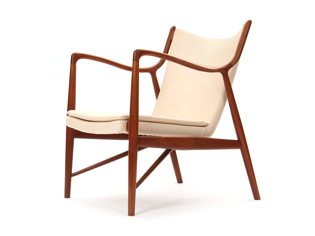 Awesome The 45 Chair By Finn Juhl/Niels Vodder 3