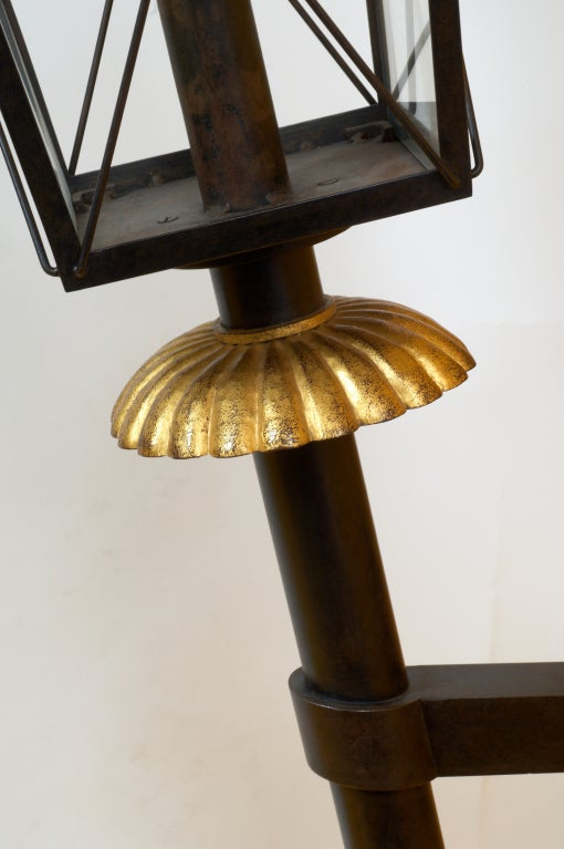 Important Pair of 1950s Wrought Iron Sconces by Gilbert Poillerat In Excellent Condition For Sale In New York, NY