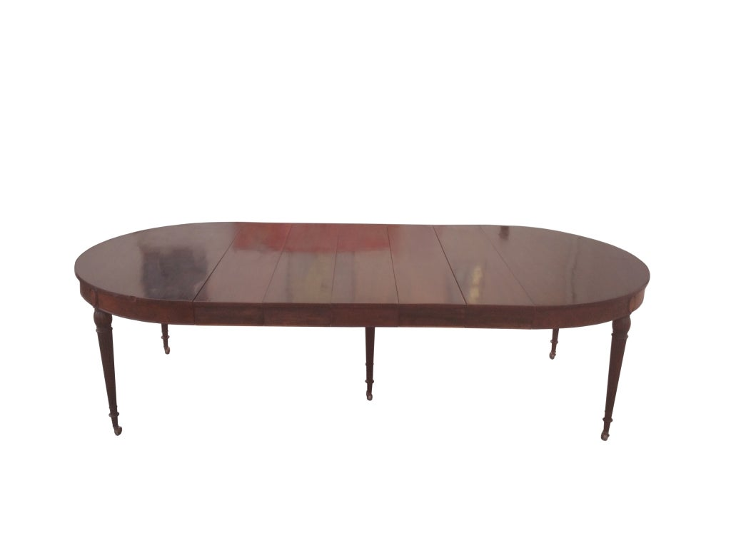 mahogany banquet table by royal furniture co for sale at 1stdibs