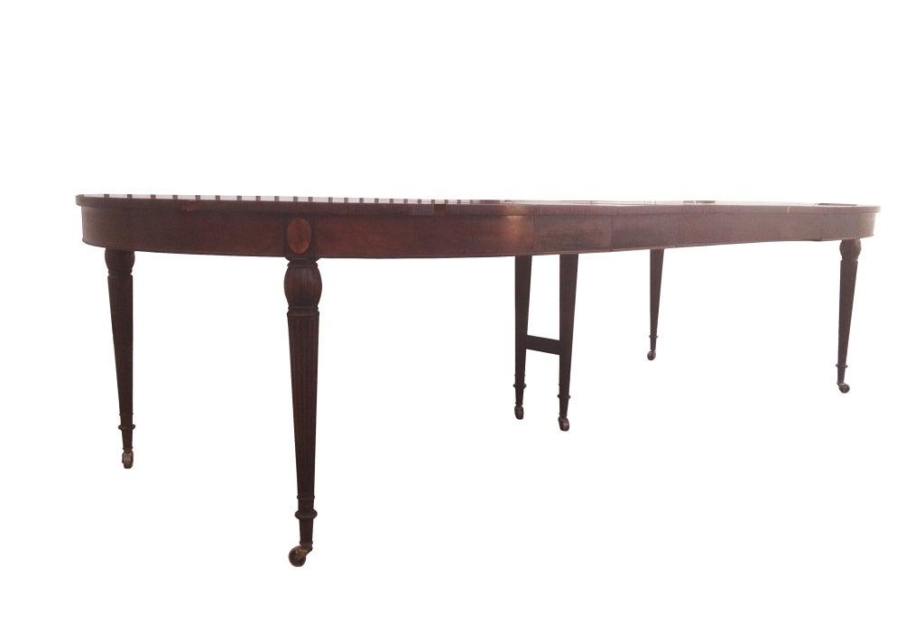 Sheraton Style Mahogany Banquet Table by Royal Furniture ...