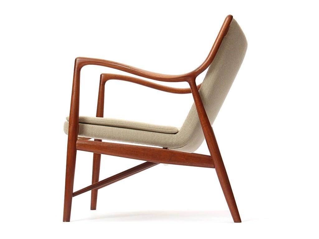 Pair Of 45 Chairs By Finn Juhl At 1stdibs