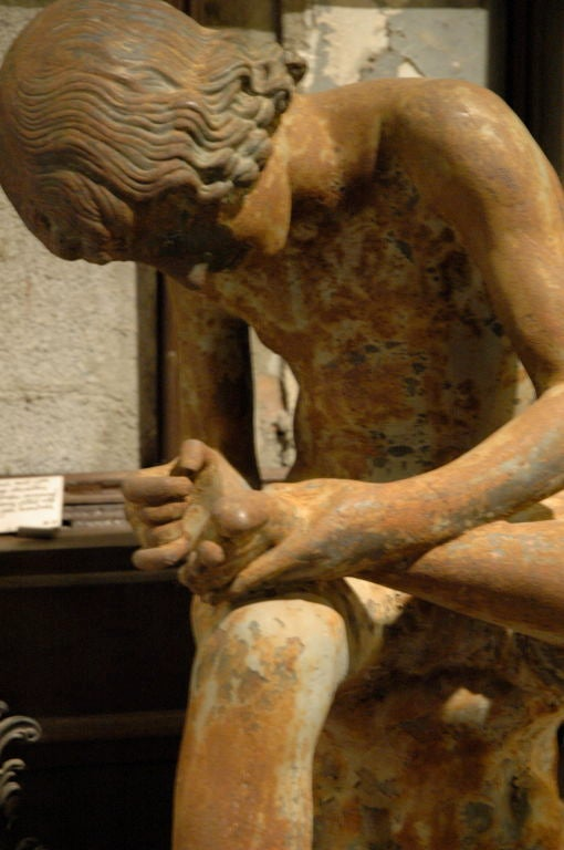 Val D'Osne Spinario Figure For Sale 4