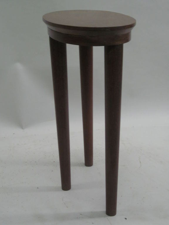 20th Century Pair of French Colonial Solid Wood Side Tables / Consoles / Nightstands, 1930 For Sale