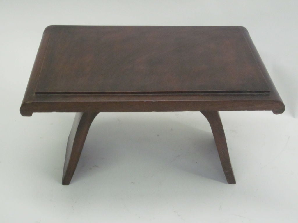 French Colonial Cocktail Table With Oriental Influence At 1stdibs