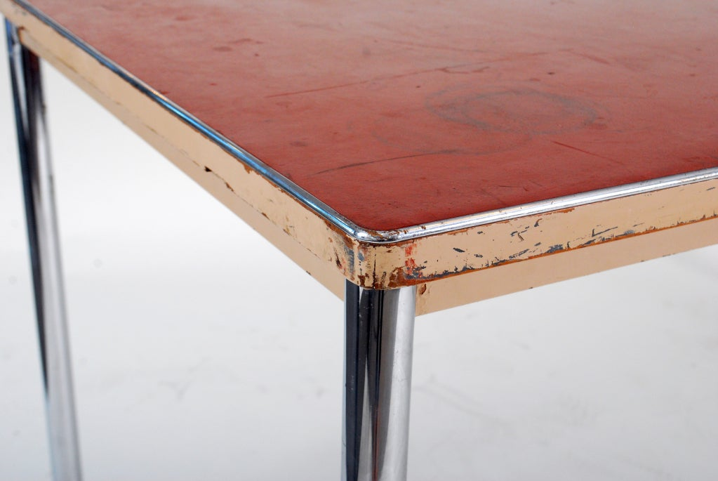 Rare And Early TableDesk By Le Corbusier At 1stdibs