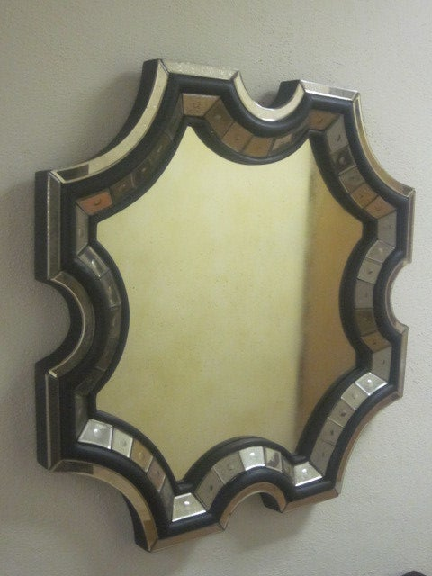 Two Extraordinary Venetian Mirrors in the Manner of Serge Roche 2