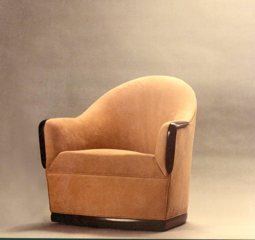 Swivel Barrel Chair by American Studio Craft Artist, David N. Ebner 4