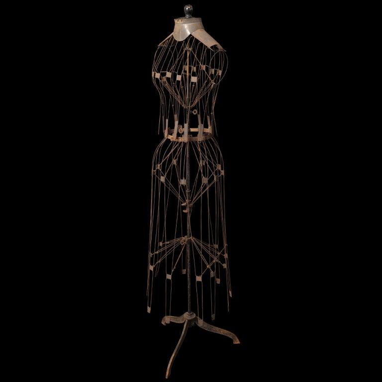 Adjustable Wire Frame Mannequin   Dress Form image 3Wire Dress Mannequin