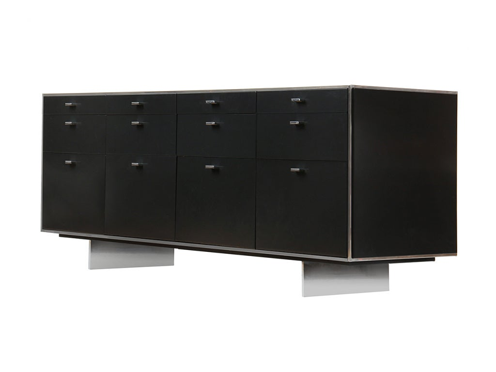 Beautiful A Steel Office Credenza By Davis Allen 3