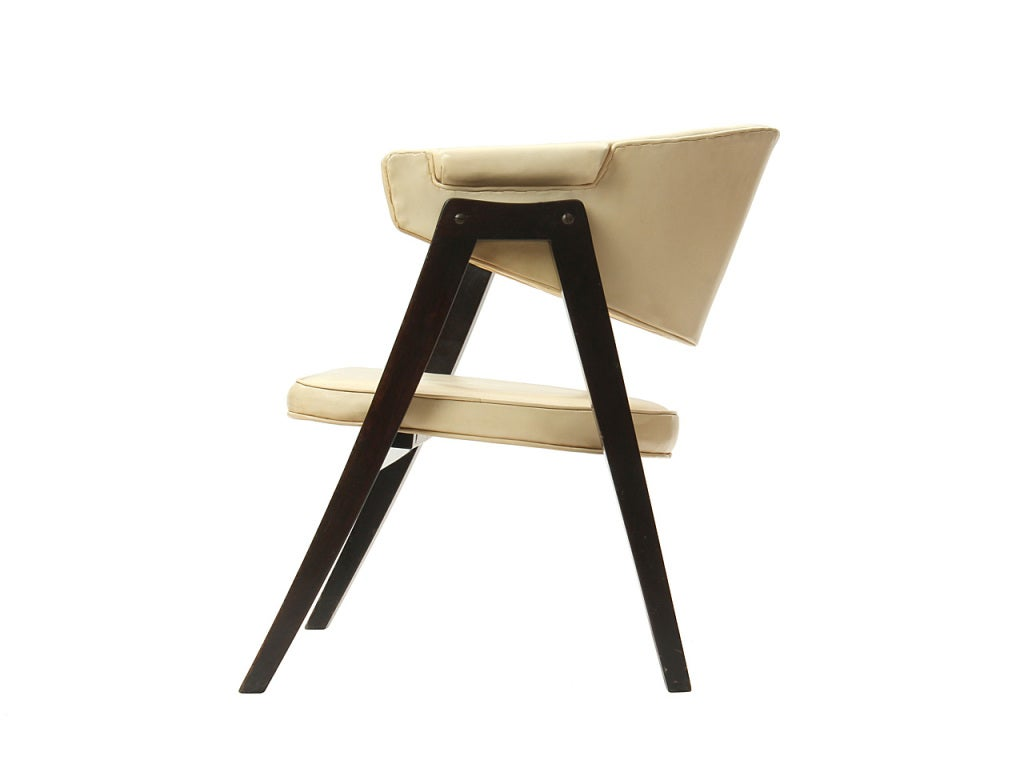 American A-Frame Armchair by Edward Wormley For Sale