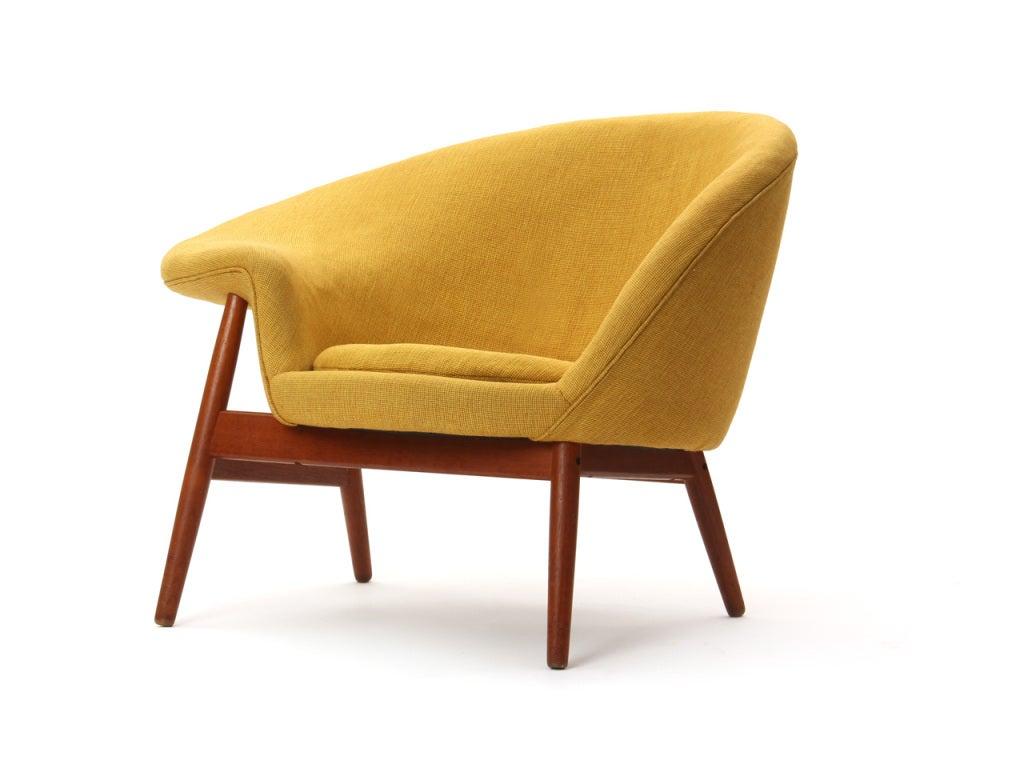 the egg chair by hans olsen at 1stdibs. Black Bedroom Furniture Sets. Home Design Ideas