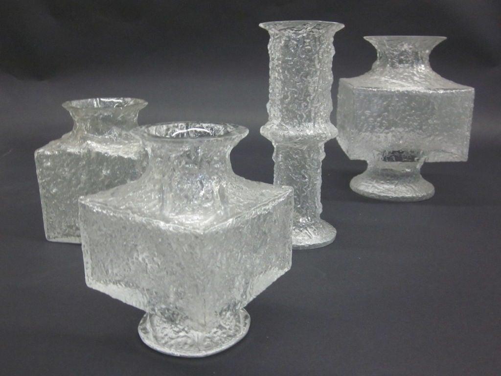 5 vases by timo sarpaneva for iittala at 1stdibs. Black Bedroom Furniture Sets. Home Design Ideas
