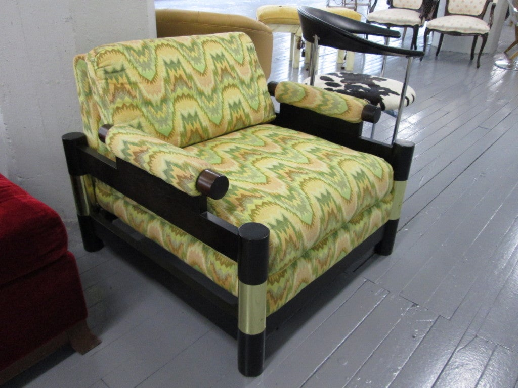 Decorative Michael Taylor For Baker Arm Chair At 1stdibs