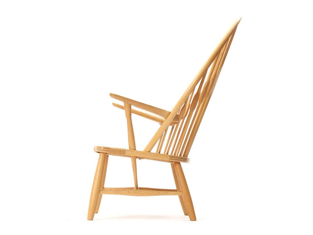 Danish Peacock Chair by Hans Wegner For Sale