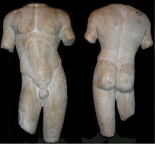 Large and Beautifully Sculpted First Century Ad Classical Roman Torso of an Athl 2