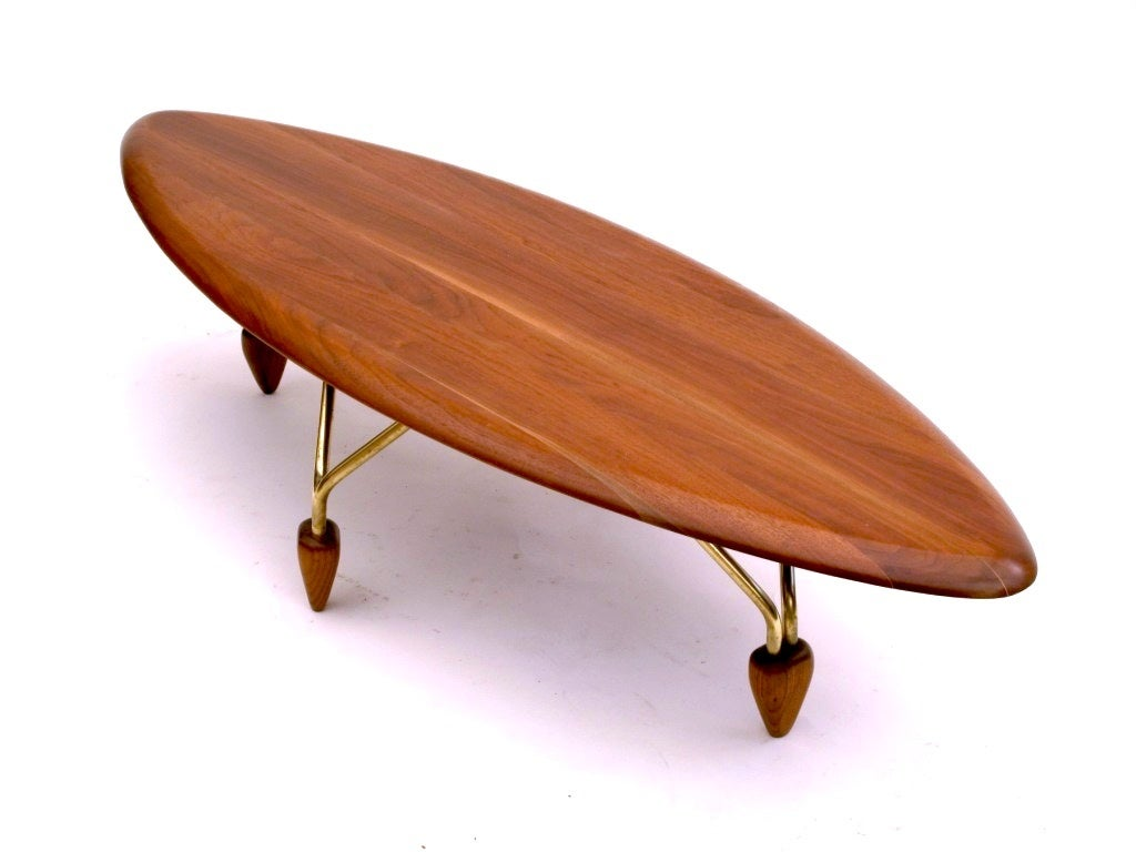 John Keal For Brown Saltman Surfboard Coffee Table And End Table Image 2