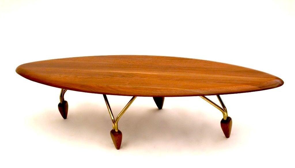 John Keal for Brown Saltman Surfboard Coffee Table and End Table 3 - John Keal For Brown Saltman Surfboard Coffee Table And End Table