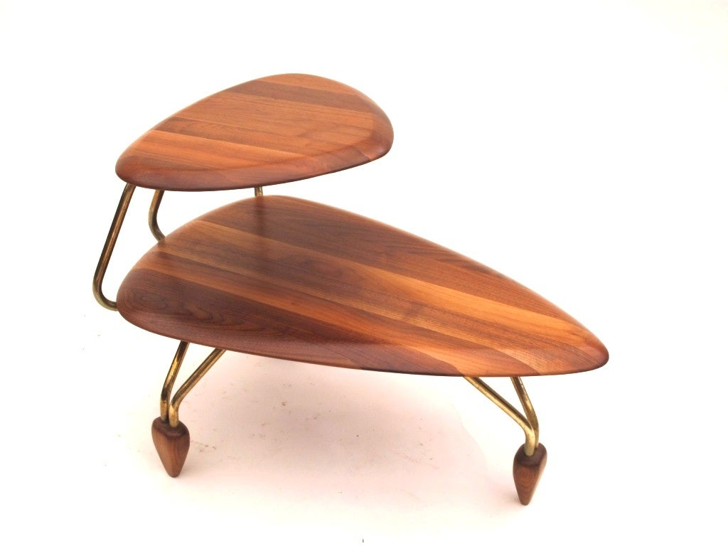 John Keal For Brown Saltman Surfboard Coffee Table And End Table At 1stdibs