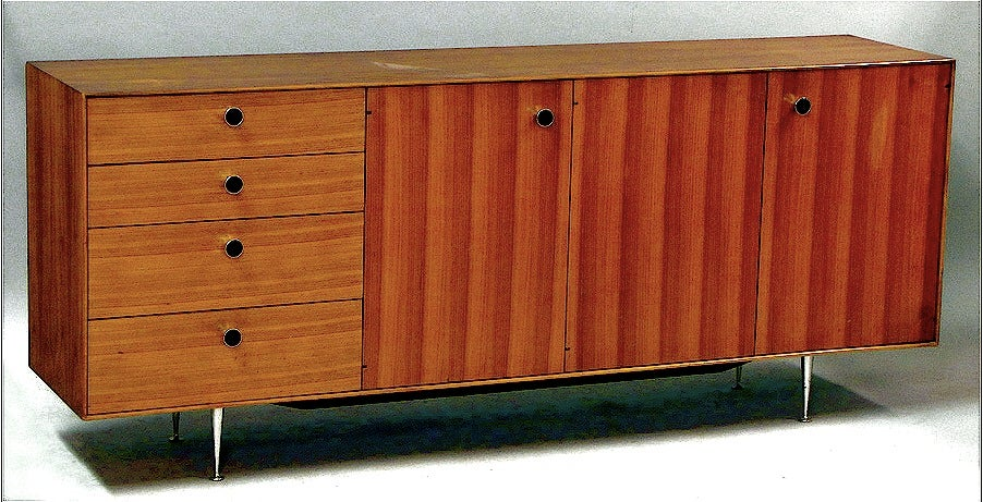 Mid-Century Modern George Nelson Rosewood Server For Sale
