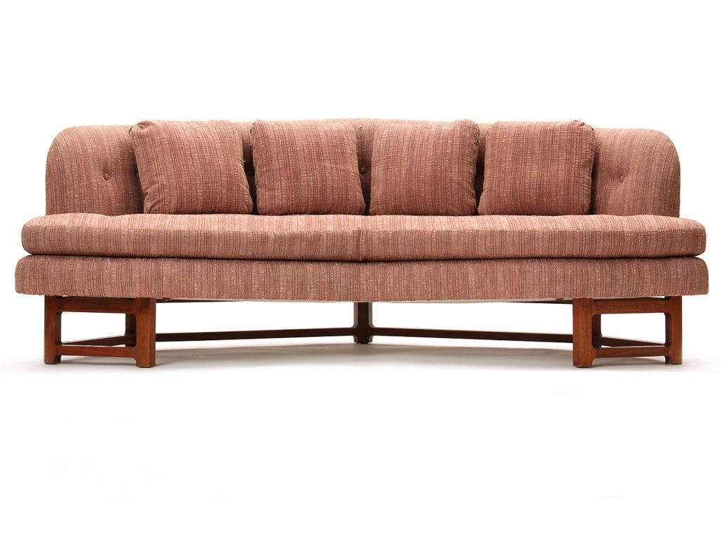 The dunbar wide angle sofa by edward wormley at 1stdibs for Wide couches