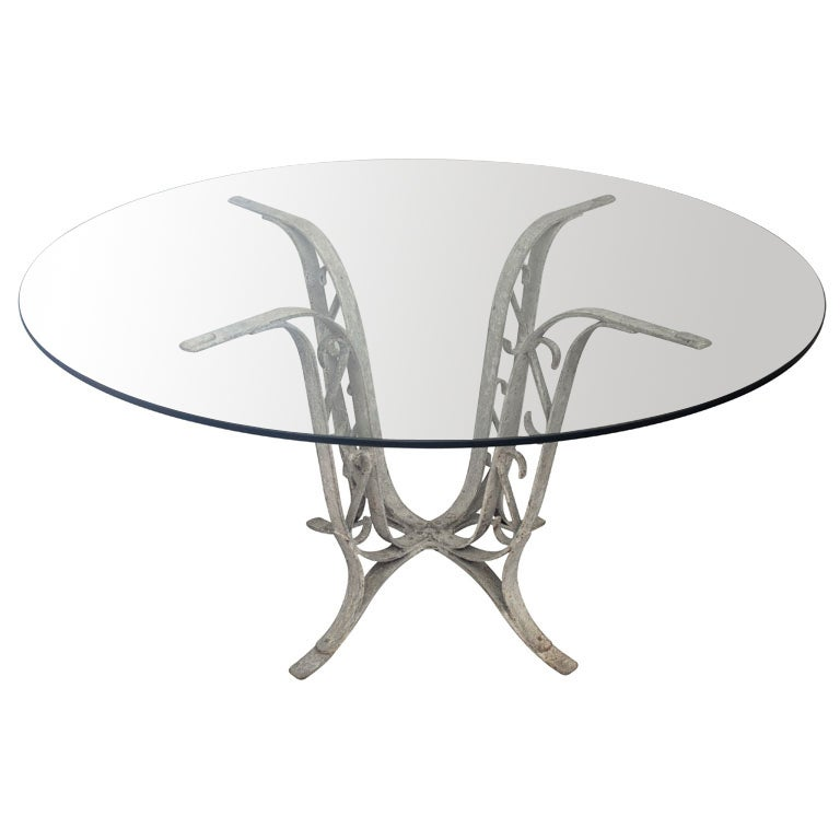 8698 1336767798 for Cast iron dining table