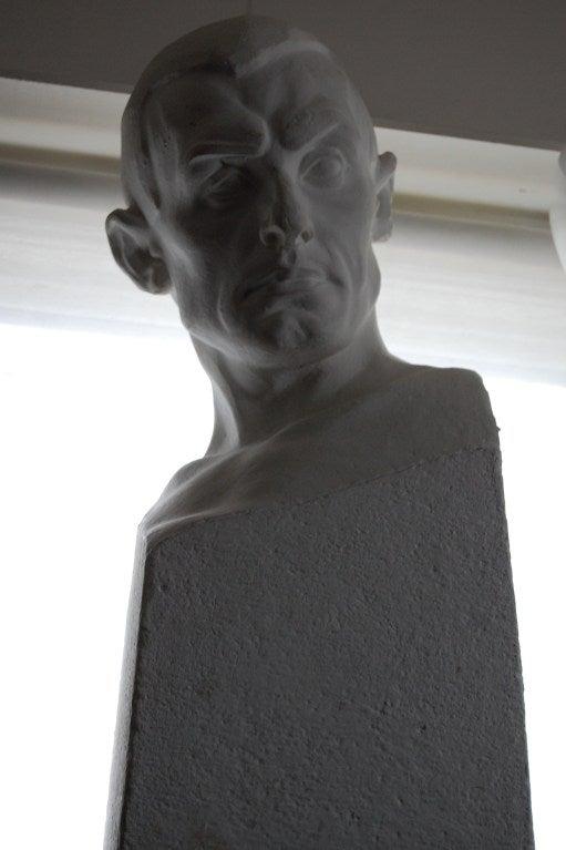 Swedish Portrait Bust of Paul Engdahl by Rafael Radberg For Sale