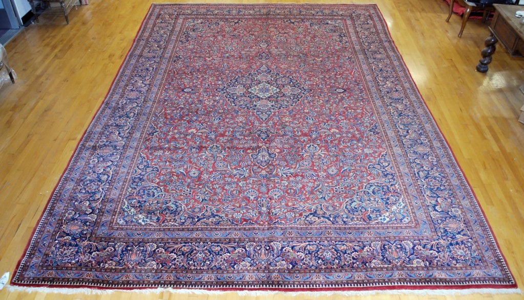 Antique Persian, Kazvin Large Rug 2