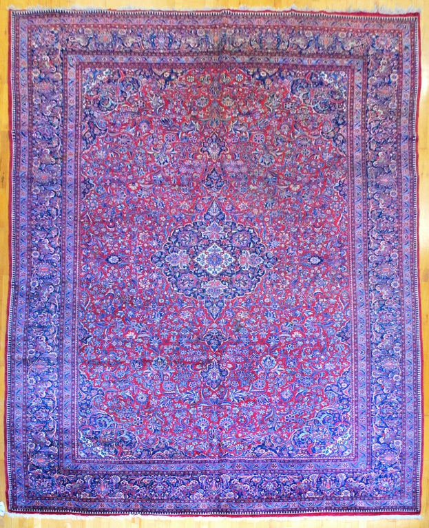 Antique Large Rug: Antique Persian, Kazvin Large Rug For Sale At 1stdibs