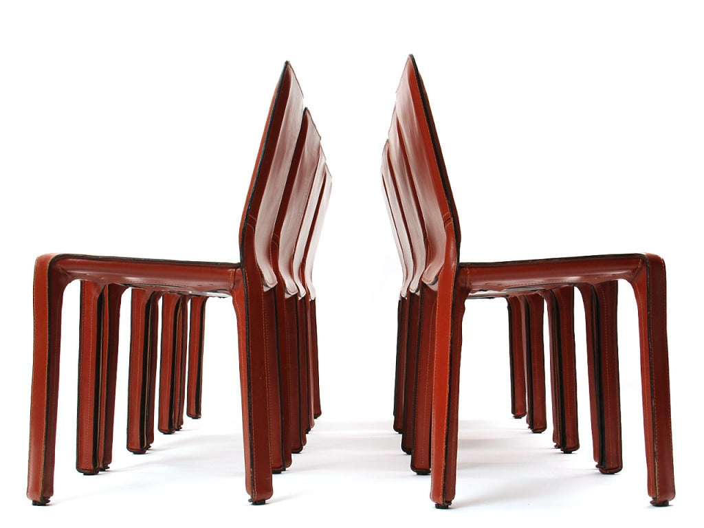 """""""Cab"""" Side Chair by Mario Bellini 2"""