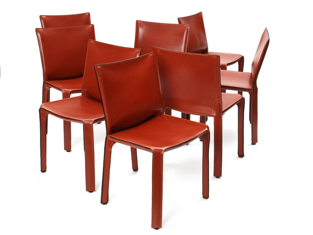 """""""Cab"""" Side Chair by Mario Bellini 3"""