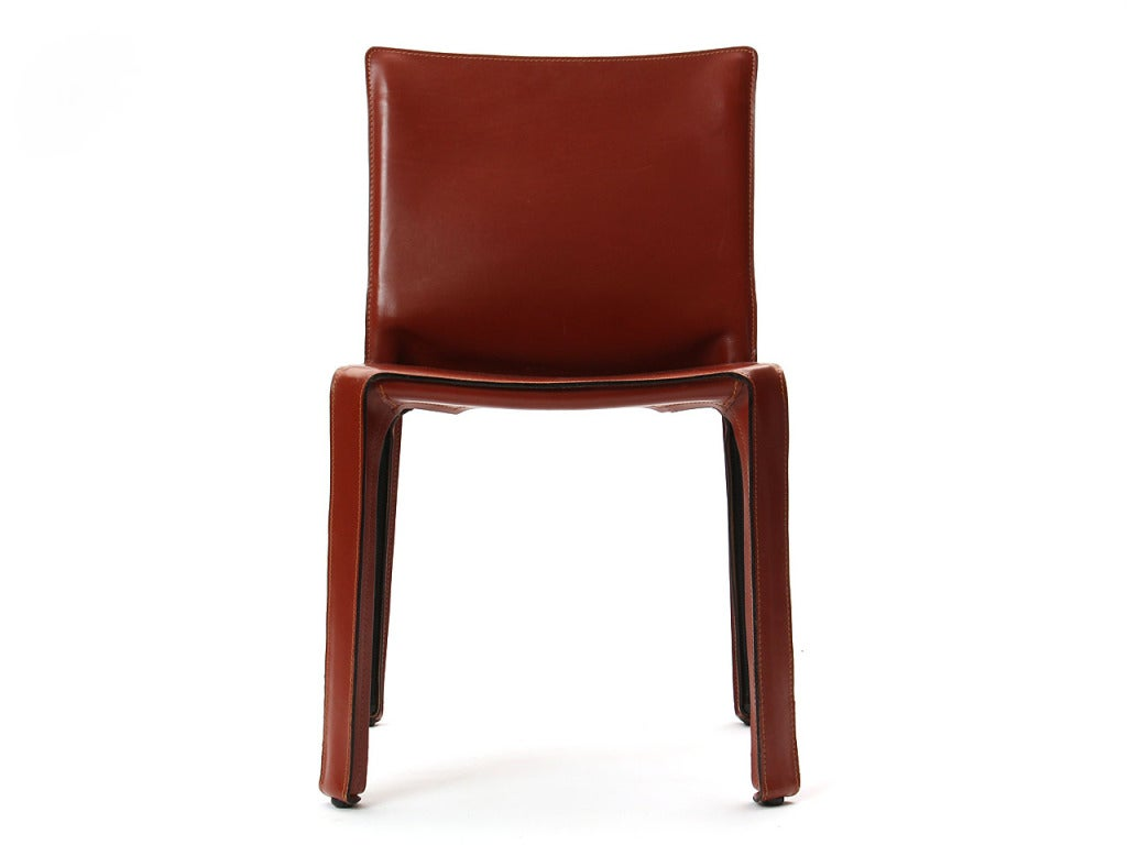 """""""Cab"""" Side Chair by Mario Bellini 4"""