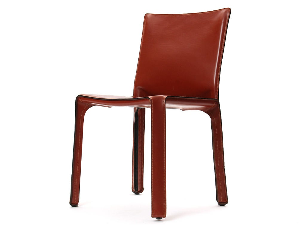 """""""Cab"""" Side Chair by Mario Bellini 5"""