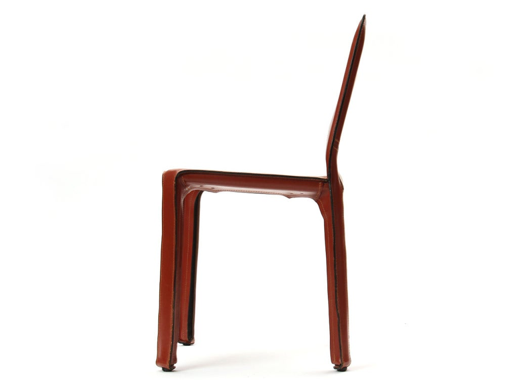 """""""Cab"""" Side Chair by Mario Bellini 6"""