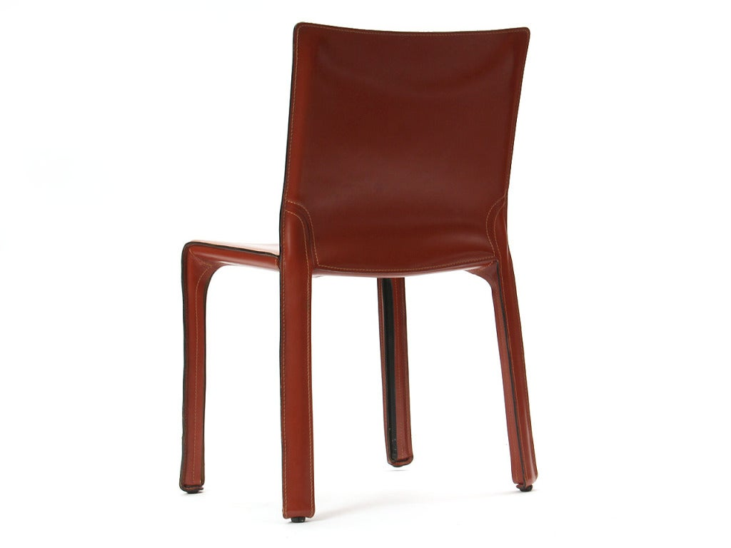 """""""Cab"""" Side Chair by Mario Bellini 7"""