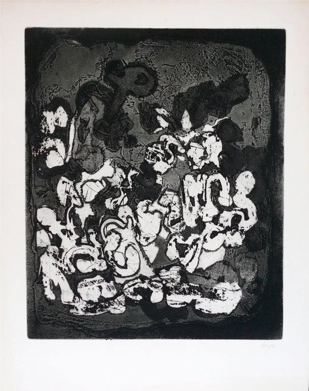 Etching By Vincent Longo
