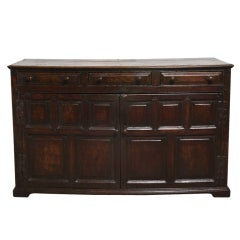 17th Century Welsh Low Dresser