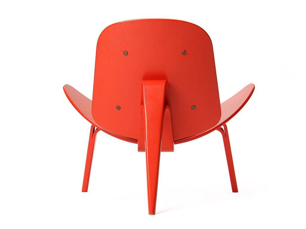 Mid-20th Century Shell Chair by Hans J. Wegner For Sale