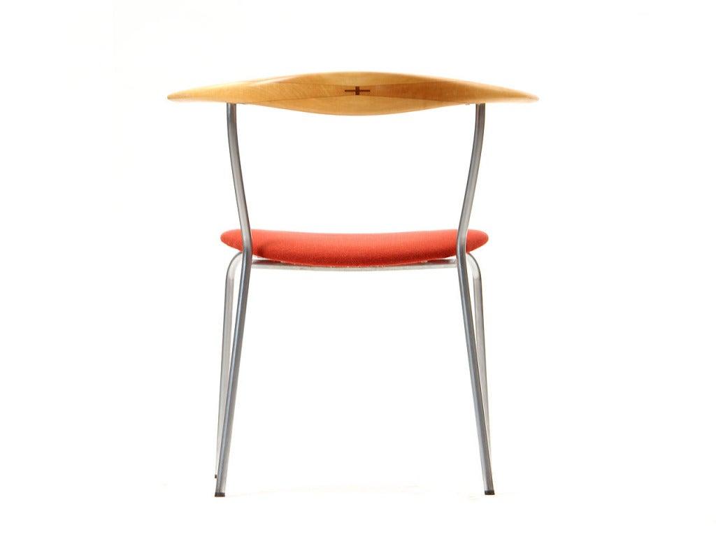 Danish Minimal Chair by Hans J. Wegner For Sale