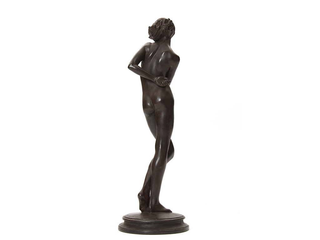 Mid-20th Century Bronze Sculpture For Sale