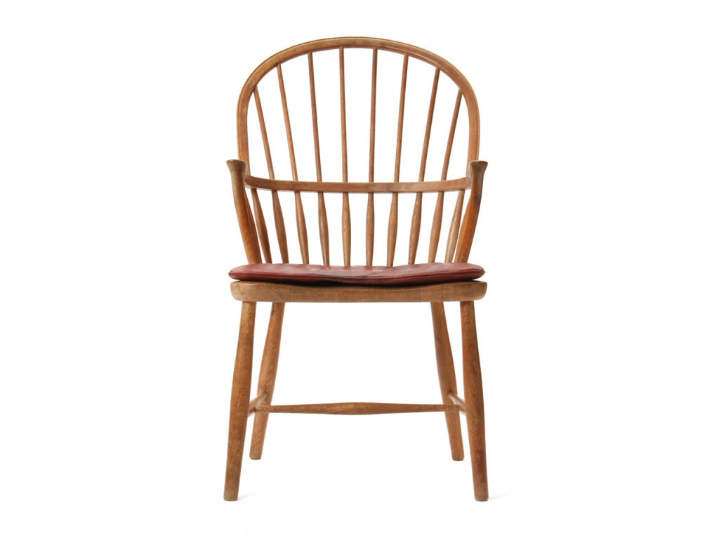 Oak Windsor Chair by Frits Henningsen 2Oak Windsor Chair by Frits Henningsen For Sale at 1stdibs. Antique Windsor Dining Chairs For Sale. Home Design Ideas