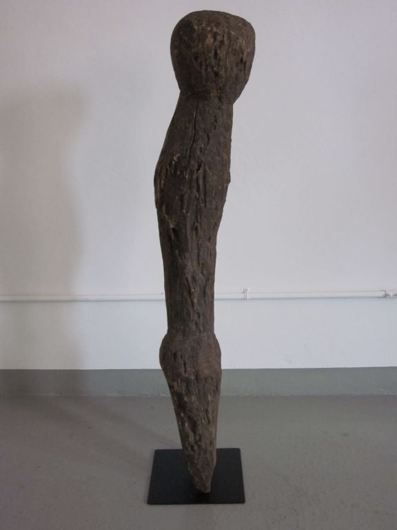 Togolese Carved Aftican Wood Sculpture from Togo For Sale