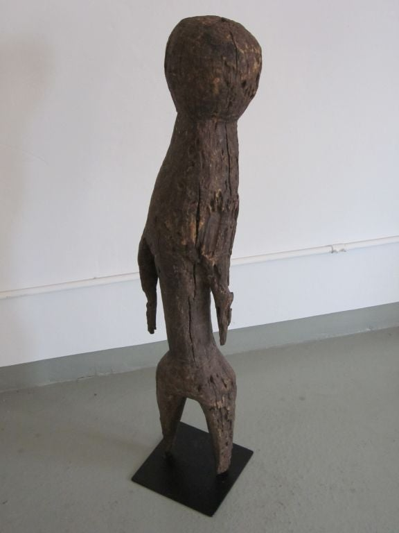 Carved Aftican Wood Sculpture from Togo In Good Condition For Sale In New York, NY