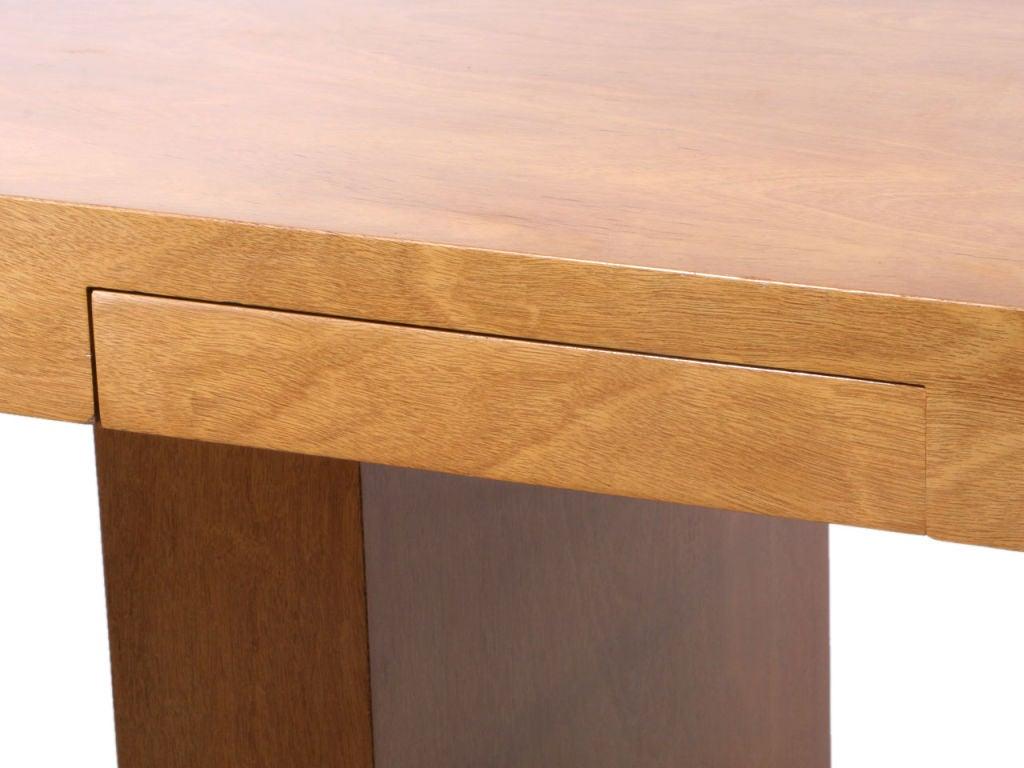 Double Drawer Slab Desk by Edward Wormley 5